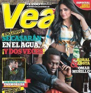 Omar Murillo y Koral Costa portada revista vea