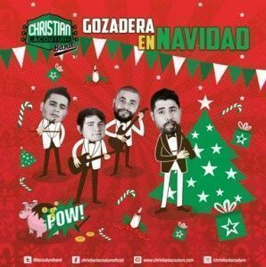 Christian Lacouture Gozadera en Navidad